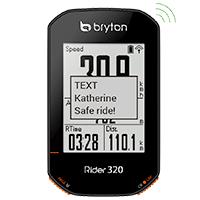 Notification SMS - Bryton Rider 320