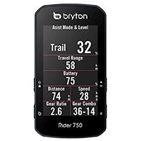 Affichage vélo électrique - Bryton Rider 750