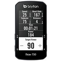 Affichage home-trainers - Bryton Rider 750