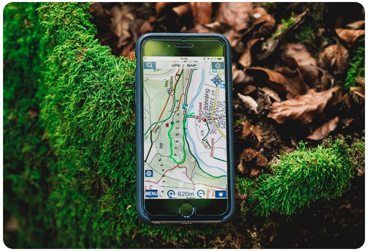 Application GPS VTT pour smartphone