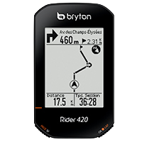 Guidage et cartographie GPS - Bryton Rider 420