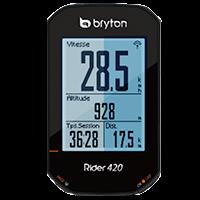 Mode Nuit - Interface Bryton Rider 420