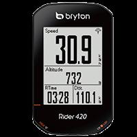 Bryton Rider 420 - Performances