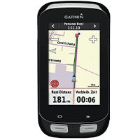 Guidage GPS du Garmin Edge 1000