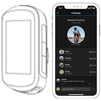 Garmin Connect et Edge 130 Plus