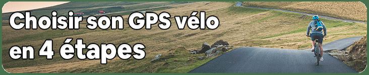 Guide d'achat GPS vélo