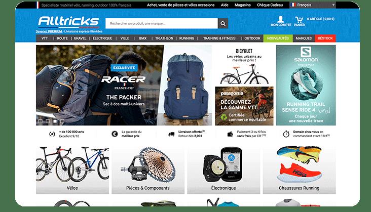 Alltricks site web