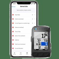 Personnalisation de l'interface du Wahoo Elemnt Bolt