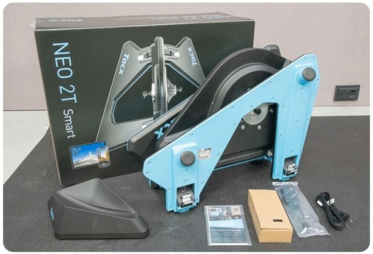 Contenu du carton du Tacx® NEO 2T Smart